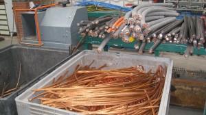 Koper met en zonder mantel - De Visser Metaalrecycling